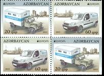 Aserbaidjan - Europa 2013 - Postfrisk sæt fra hæfte