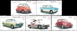 Tyskland - Klassiske biler - Postfrisk sæt 5v