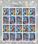 USA - Disney Magi - Postfrisk ark