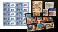 Gagarin 1 ark (Michel 5593) og 15 frimærker