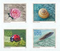 Schweiz - Særlige lejligheder - Postfrisk sæt 4v