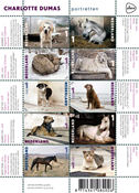 Netherlands - Animal portraits - Souvenir sheet
