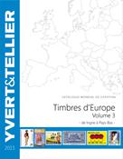 Yvert frimærkekatalog - Europa I-P, 2015