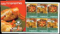 Albania - Europa 2005, Gastronomy - Mint booklet
