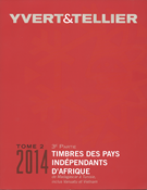 Yvert stamp catalogue - African States - 2014 vol.  3