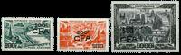 La Réunion - YT luftpost nr. 49-51 postfrisk