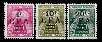 La Réunion - YT portomærke nr. 45-47 postfrisk