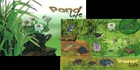 Singapore - Livet i dammen - Postfrisk special folder