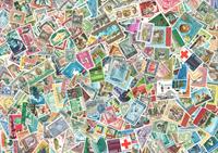 Jordan 500 different stamps