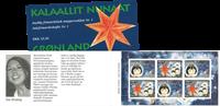 Grønland - Julefrimærkehæfte nr. 1