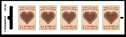 Danmark - Honninghjerter - Postfrisk hæfte