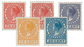 Holland 1926-39 - NVPH 180 - 182-83 - 187-88 - Ubrugt