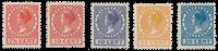 Netherlands 1926-39 - NVPH 180 - 182-83 - 187-88 -  Unused