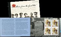 Guernsey - Fortællinger fra krigen - Postfrisk prestigehæfte