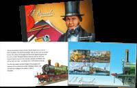 Guernsey - Brunel - Postfrisk prestigehæfte