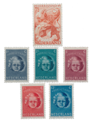 Netherlands year 1945 - Mint