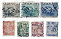 Netherlands year 1930 - Cancelled