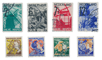 Netherlands year 1932 - Cancelled