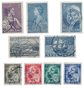 Netherlands year 1934 - Cancelled