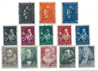 Netherlands year 1938 - Cancelled