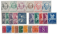 Netherlands year 1946 - Cancelled