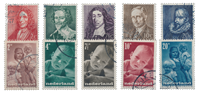 Netherlands year 1947 - Cancelled