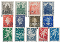 Netherlands year 1948 - Cancelled