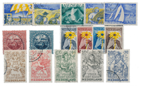 Netherlands year 1949 - Cancelled