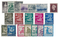 Holland year 1950 - Stemplet