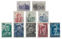 Netherlands year 1951 - Cancelled