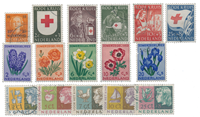 Netherlands year 1953 - Cancelled