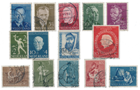 Netherlands year 1954 - Cancelled