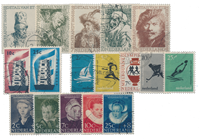 Netherlands year 1956 - Cancelled