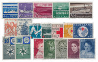 Netherlands year 1957 - Cancelled