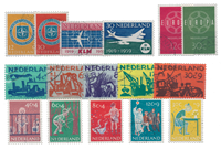 Netherlands year 1959 - Cancelled