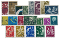 Netherlands year 1962 - Cancelled