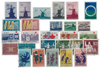 Netherlands year 1963 - Cancelled