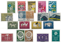 Netherlands year 1964 - Cancelled