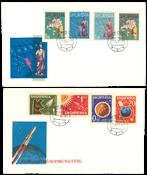 Albanië - 2 eerste dag enveloppen