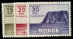 Norge 1943 - AFA nr. 290-92 - Postfrisk