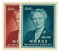 Norge 1956 - AFA nr. 418-19 - Postfrisk