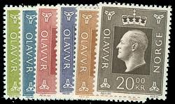 Norge 1969-71 - AFA nr. 601-66 - Postfrisk