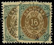 Danmark 1875 - AFA nr. 27,y - Stemplet