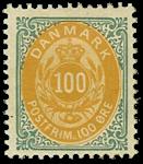 Danmark 1902 - AFA nr. 31c - Ubrugt