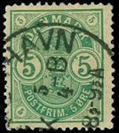 Danmark 1882 - AFA nr. 32 - Stemplet