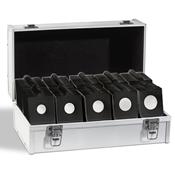 Assort. 1.000 étuis carton, noir, autocollants, 100 x chaque Ø 17,5-39,5 mm
