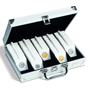 Case for 650 coin holders, with 5 rows