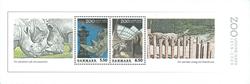 Danmark - 3 postfriske miniark - Zoo 1859-2009