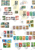 Luxemburg - Duplicate lot of first day covers