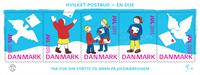Denmark - Christmas seals 2015 - Giant mint sheet